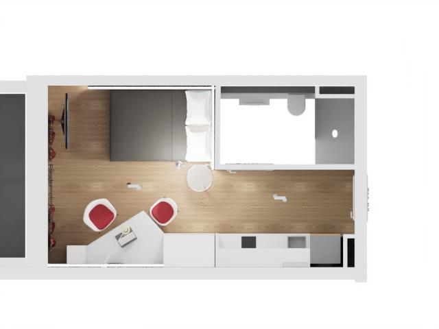 Design.Apart Stay Fair Apartment Grundriss