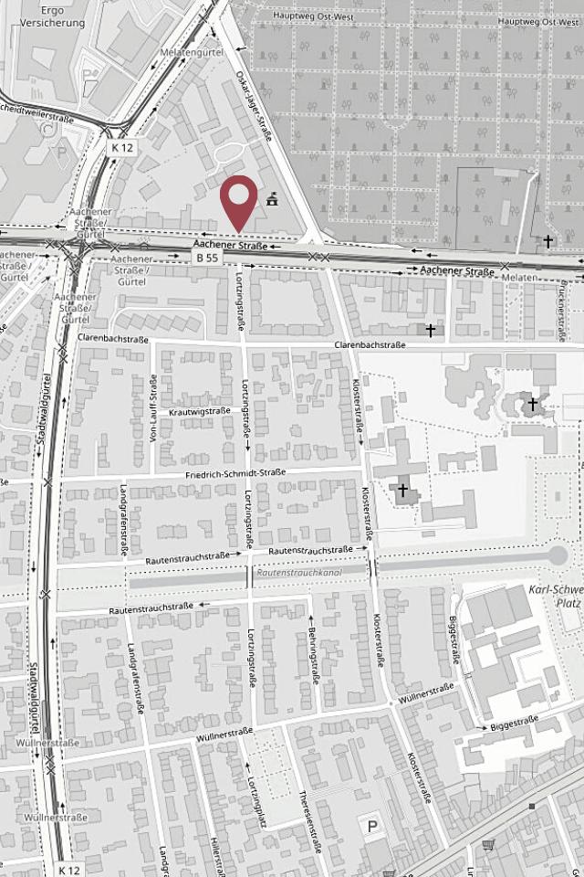 Design.Apart Köln - Karte